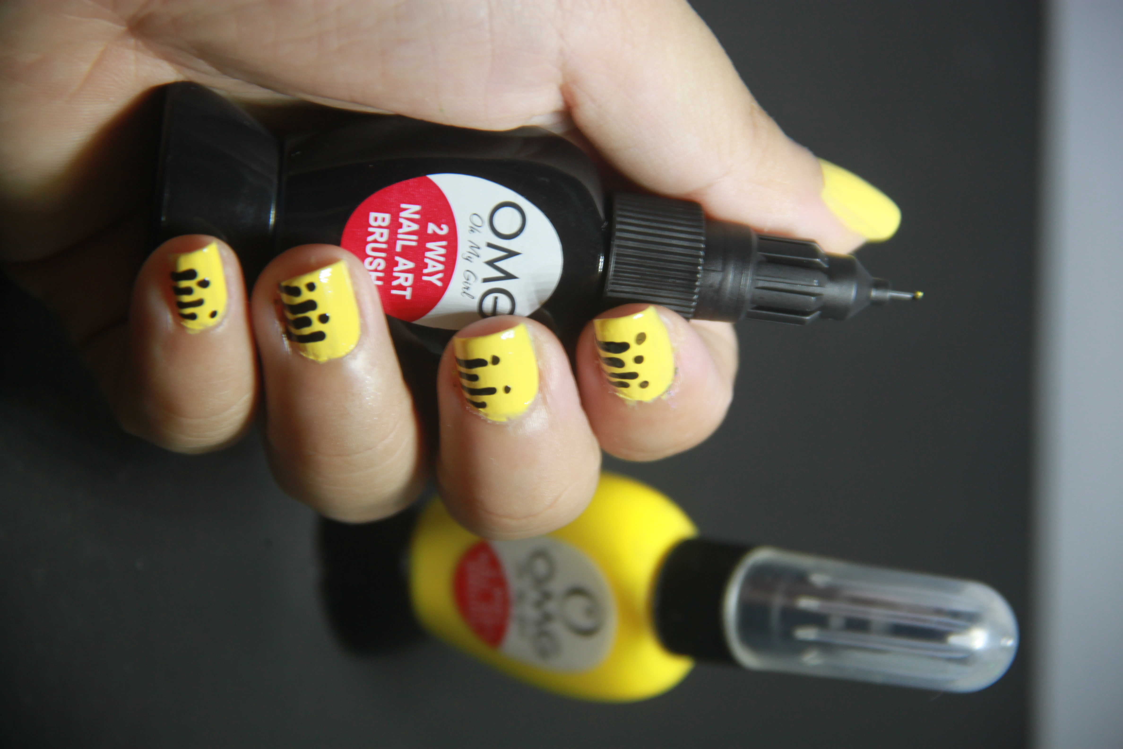 Back to school inspired nail art as easy as 123 any more suggestions on nail inspired designs inspire us like us on our facebook page and share to us your suggestions and feedback prinsesfo Images