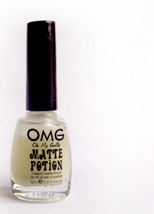 Make your own Matte Top Coat as easy as 3 steps!
