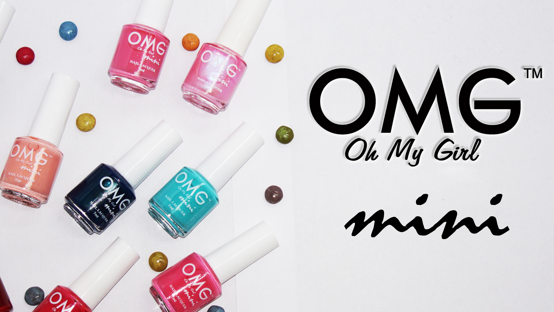 THE NEW OMG NAIL POLISH: OMG Mini Nail Lacquer